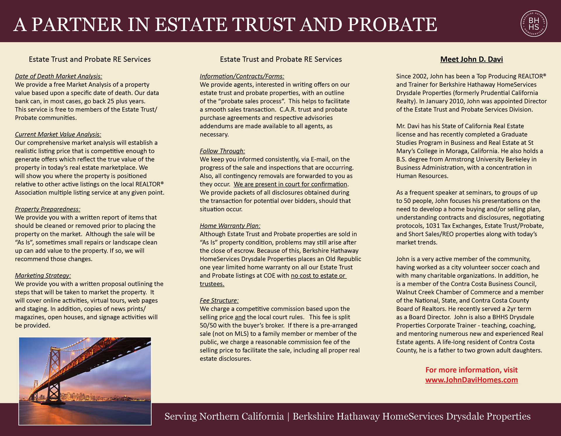 Trust and Probate Brochure - 2